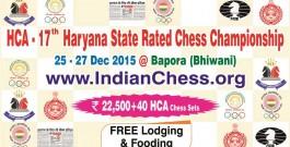 Banner : HCA – 17th Haryana State Championship